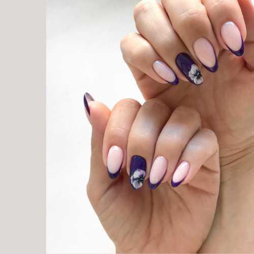 маникюр в стиле тиффани, создание дизайна ногтей от tiffany